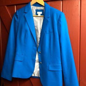 J.Crew Factory turquoise schoolboy blazer 4
